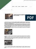 Regulagem Unidade e Valvula Scania