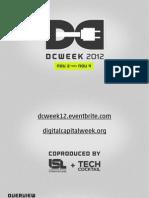 DCWEEK 2012 Hackathon