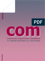 Comunicación Organización Management - ebook