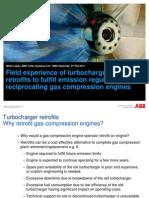 ABB - Field Experience of Turbocharger Retrofit