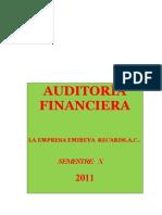 Caso Practico de Auditoria Financiera