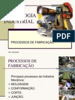 PROCESSOS DE FABRICAÇAO