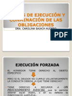 MEDIOS DE EJECUCION Y CONMINACIÓN