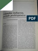 Gerardo Reichel Dolmatoff - Colombia indígena, período prehispánico