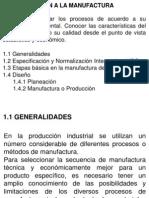 1-1.2 INTRODUCCIÓN A LA MANUFACTURA
