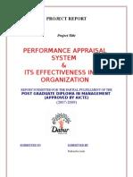 Dabur - Performance Appraisal