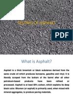 Testing of Asphalt Presentation