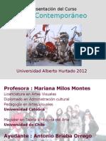 Presentación del Curso_Arte contemporáneo 2012