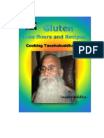 Gluten Free Flours and Recipes