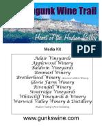 Shawangunk Wine Trail Press Kit
