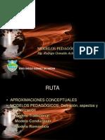 Modelos Pedagogicos- IERD Diego Gomez- Jornada Pedagogica 27 Agosto