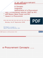PPT on e Procurement