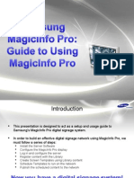 MagicInfo Pro - Guide to Using MagicInfo Pro