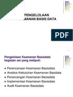 2. Perencanaan Keamanan Basis Data