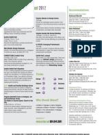 ArchEx 2012 Brochure