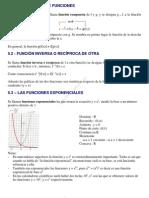 teoria Funciones exponenciales, logarítmicas y trigonométricas.