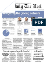 The Daily Tar Heel for August 27, 2012