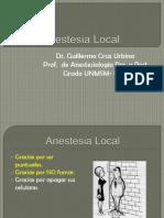 ANESTÉSICOS  LOCALES URP RV -12
