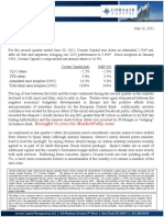 Corsair Capital 2Q2012 Letter
