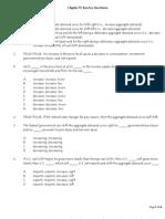 Macro Chapter 12 Practice Questions