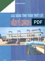 Các bảng tính toán thủy lực cống và mương thoát nước - Gs.Ts.Trần Hữu Uyển