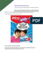 Gigi Susu Sehat Dengan Pasta Gigi Winz Kids