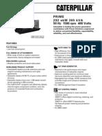 3406 - 365kVA Prime