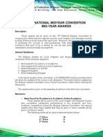 15th National Midyear Convention Midyear Awards