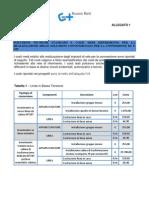 Allegato 1- Costi Medi Di Riferimento Per La Realizzazione Delle Soluzioni Convenzionali Per La Connessione