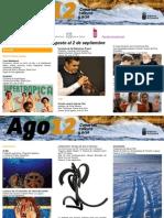 Agenda Cultural Canarias, semana del 27ago al 2sep