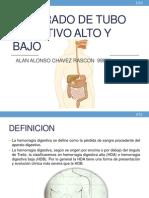 10.Sangrado de Tubo Digestivo Alto y Bajo