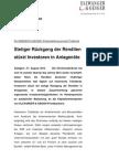 Presseinformation; ELLWANGER & GEIGER