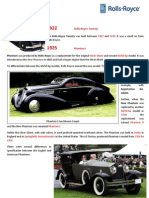 Cars by RR (1922 and 1925)