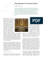 Pope Benedict XVI and the Church