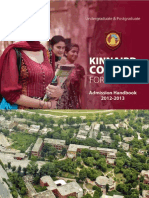 KC Handbook Undergaduate