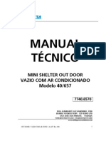 Mini Shelter Out Door Vazio Com Ar Cond - 40_657 Rev 00