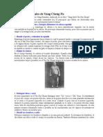 Las Diez Esenciales de Yang Cheng Fu y Algo Mas