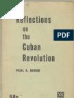 Baran, Paul A., Reflections on the Cuban Revolution