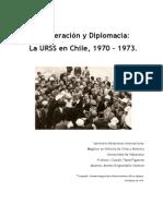 Cooperación y Diplomacia Chile y URSS 1970 - 1073