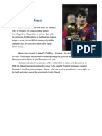Biografi Lionel Messi