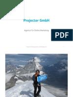 Projecter Unternehmensvorstellung