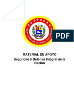 Seguridad Defensa Integral  de La Nación