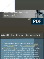 Meditation Upon a Broomstick