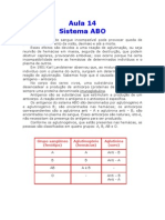 Biologia - Aula 14 - Sistema ABO)