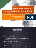 Redes Sociales Educativas y Comunidades de Aprendizaje 1216332917516136 8