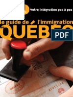 Guide Immigration Quebec 2012