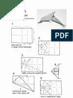 Origami - Delfin