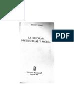 Ernest Renan-La Reforma Intelectual y Moral