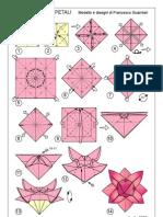 Origami - Flor 8 Petalos 3D