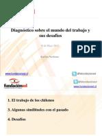 Fundación SOL. Diagnóstico del mundo del trabajo